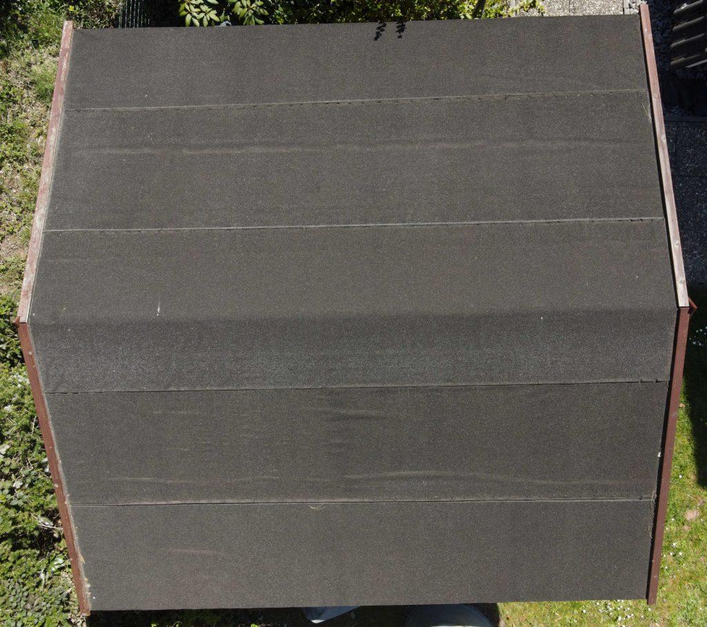 Dachinspektion-Dachpappe
